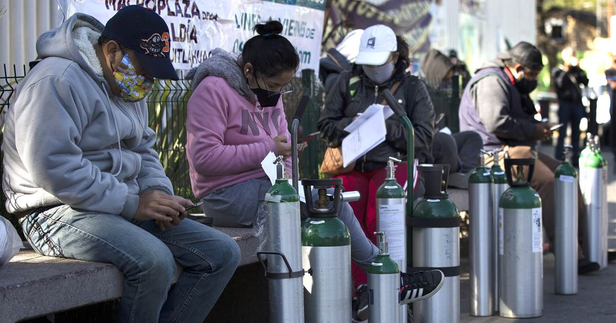 In Mexico amid Covid pandemic, oxygen demand has led to crime