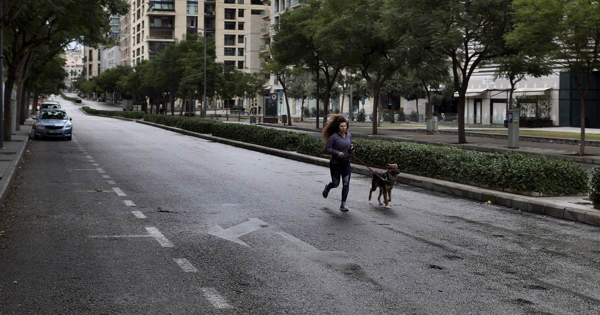 With virus spinning out of control, Lebanon starts harsh 24-hour curfew