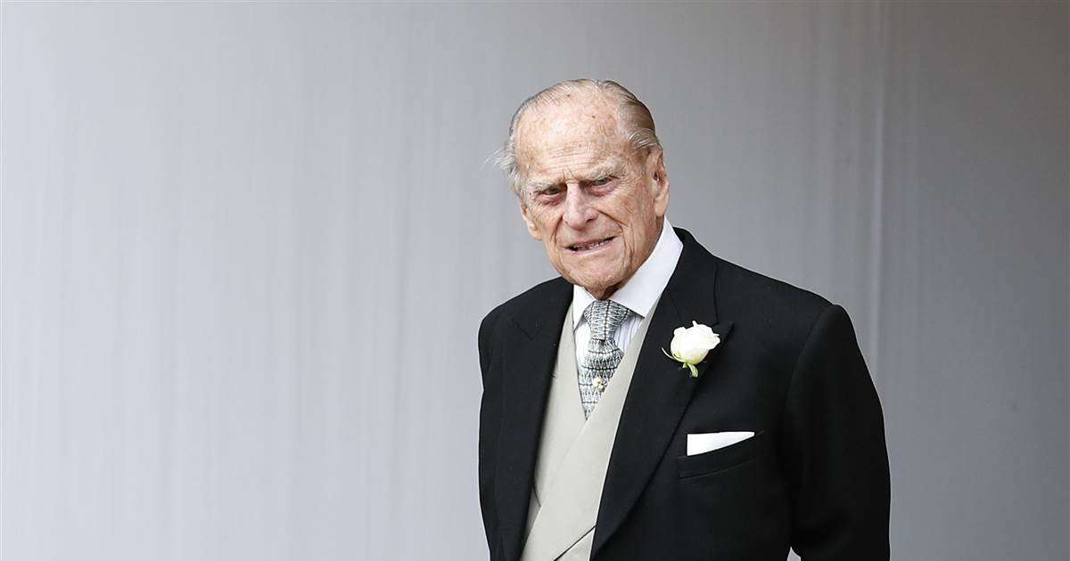 Prince Philip, husband of U.K.'s Queen Elizabeth II, admitted to hospital