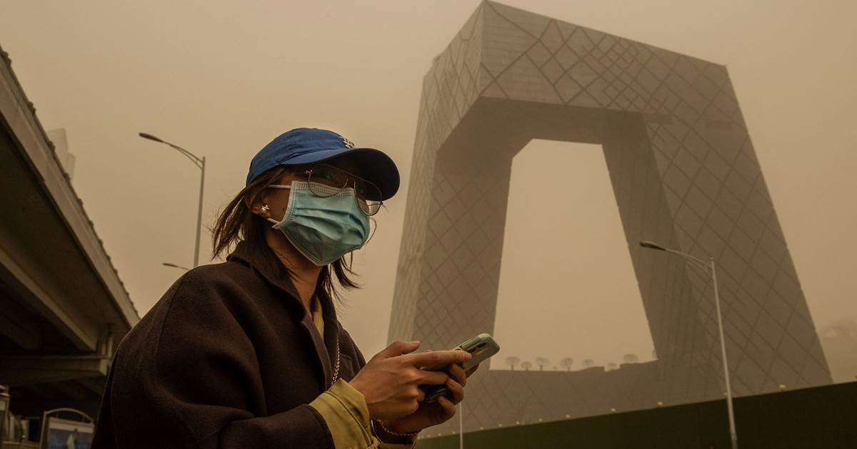 'It looks like the end of the world': China's worst sandstorm in a decade chokes Beijing