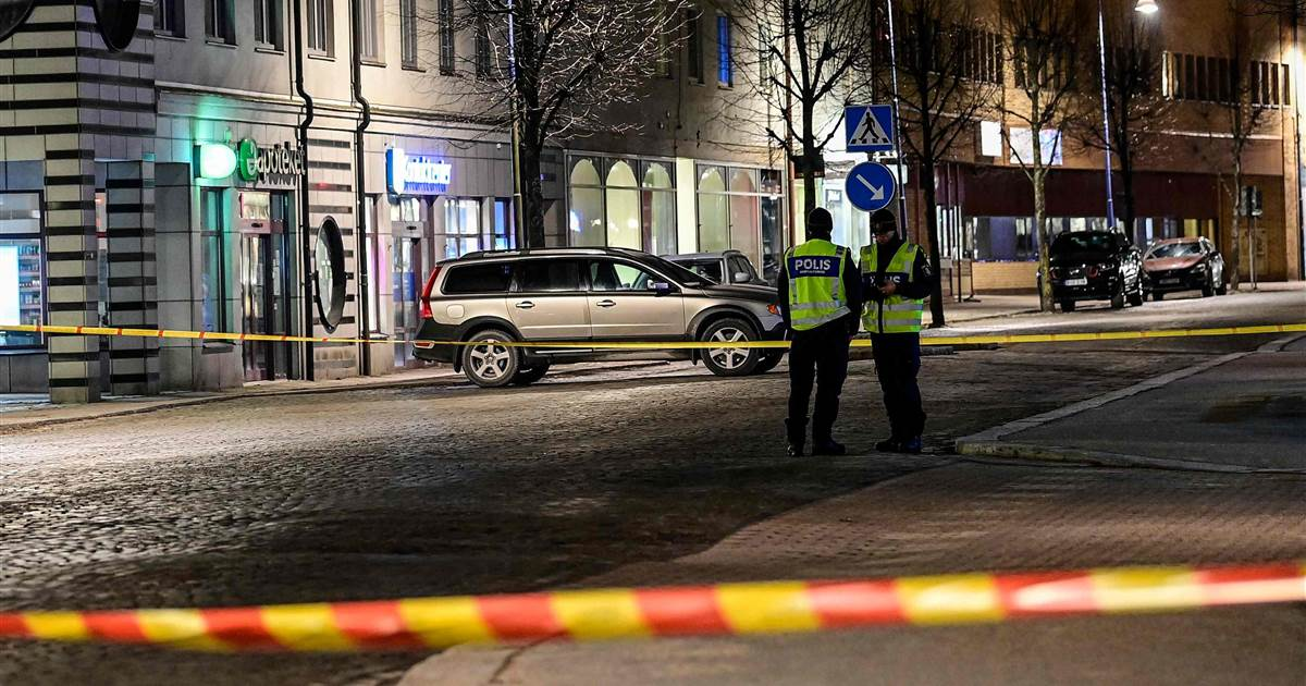 At least 8 injured in 'suspected terrorist crime,' Swedish police say