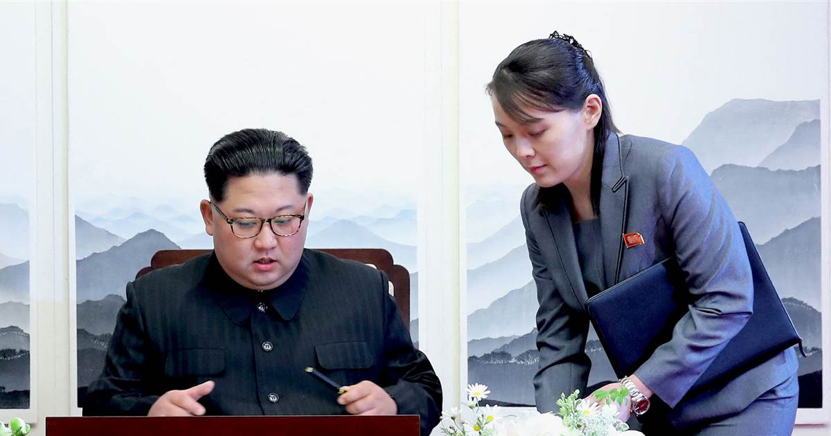 Don't cause a 'stink,' sister of North Korean leader tells U.S.