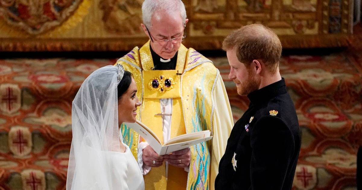 Harry and Meghan didn't have secret 'backyard' wedding, archbishop who married them says