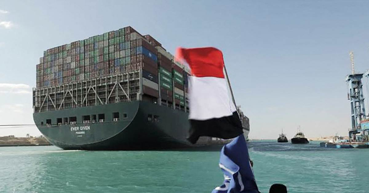 Suez Canal traffic jam 'cleared' days after cargo ship freed