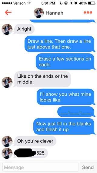 What is the best pick up line